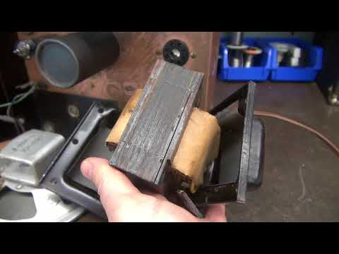 How to fix Radio tube amp Transformer Hum Buzz Vibration D-lab Electronics