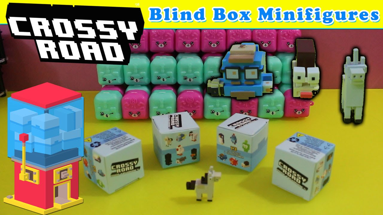 Crossy Road New Blind Box Minifigures 4 Crossy Road