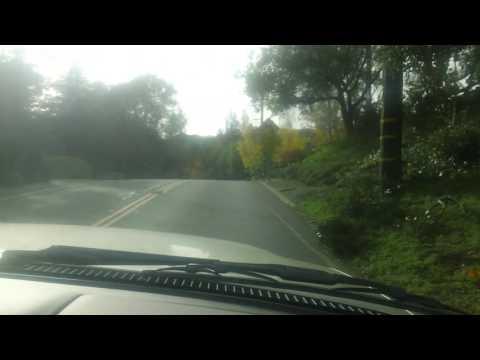 Driving thru an idyllic suburb of Orinda, CA