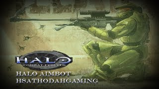 Halo Combat Evolved Aimbot Gameplay Derp xD