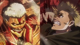 Attack On Titan Season 2 Episode 36 Anime Review Erwin S Epic Charge Reiner S Last Stand