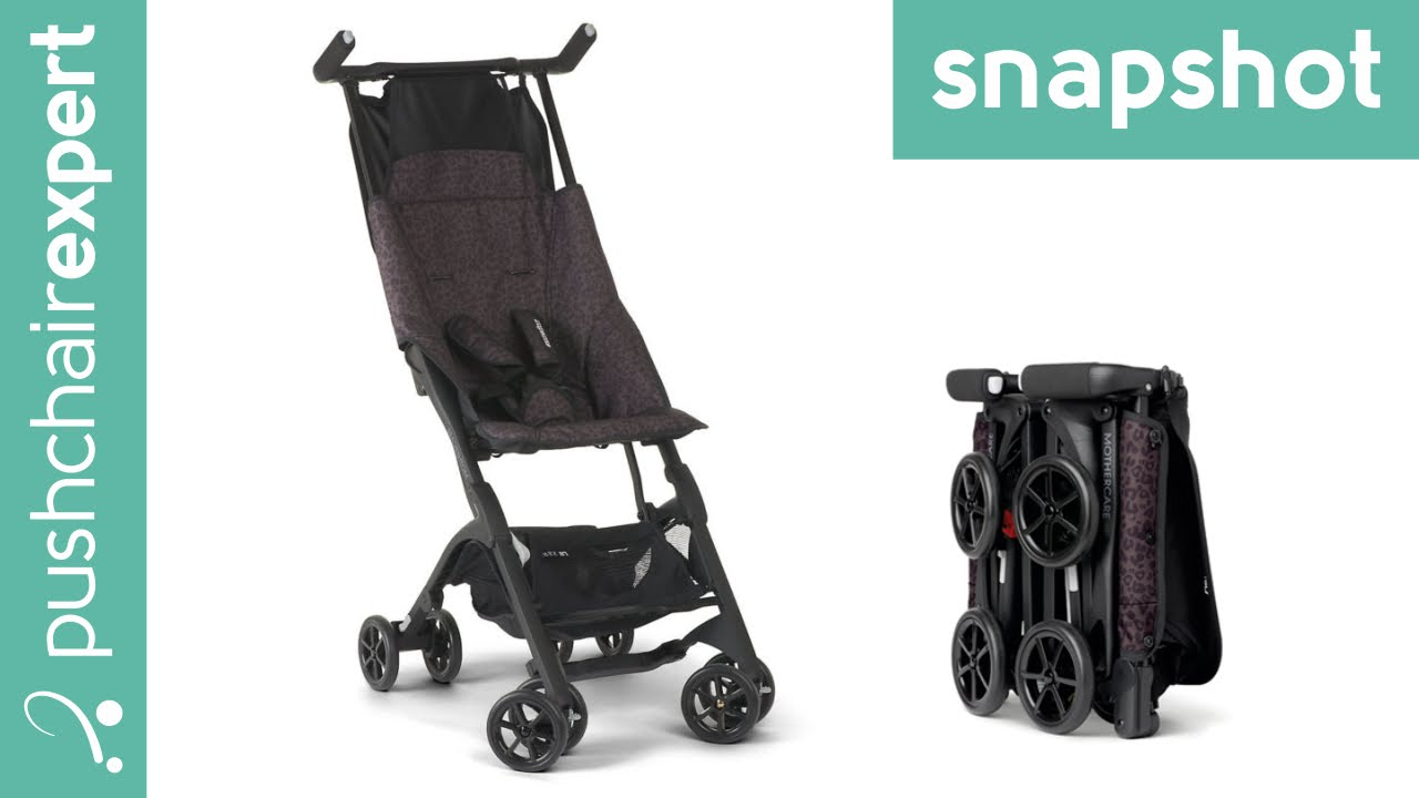 mothercare xss pockit the worlds smallest folding stroller youtube