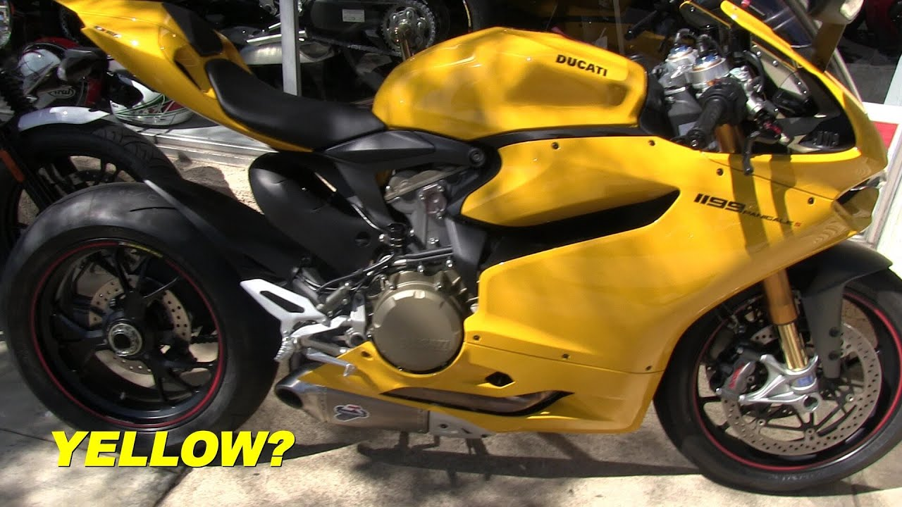 Ducati Yellow Paint