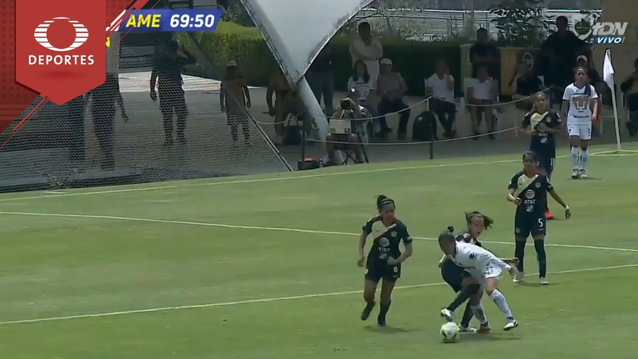 Gol de Hireri Velázquez | Pumas 1 - 1 América | Liga MX Femenil - J15 | Televisa Deportes