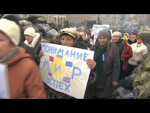 Ukrainians react to Crimea referendum vote