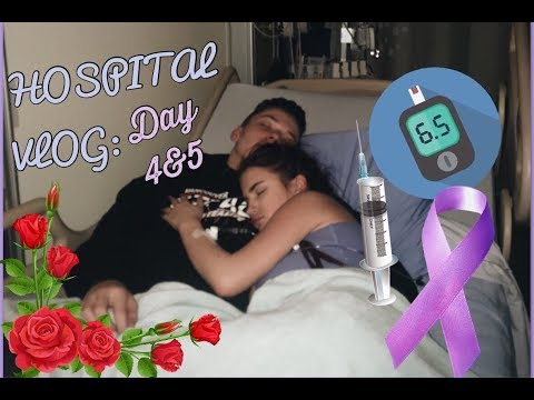 Vlog: Day 4&5 In The Hospital~Cystic Fibrosis/Diabetes