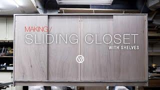 W51_Sliding closet with shelve…