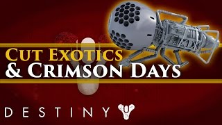 "Destiny News! No Crimson Days Event? Cut Exotic ""Dubious Volley"", Fake Reddit News"