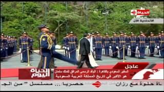 """فيديو.. القطان: الوفد المرافق لـ""""سلمان"""" هو الأكبر في تاريخ السعودية"""
