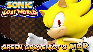 Sonic Lost World (PC) Green Grove Act 2 Mod