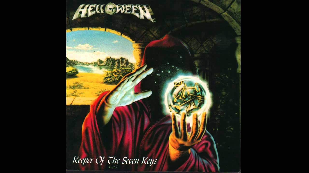 helloween keeper of the seven keys part 1 blue vinyl