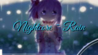 Lagu jepang sedih SLOW (nightcore~rain)