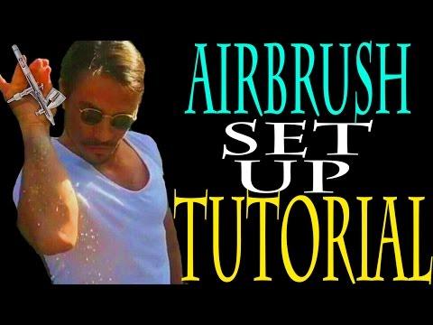 DIY AIRBRUSH SETUP FOR BEGINNERS TUTORIAL