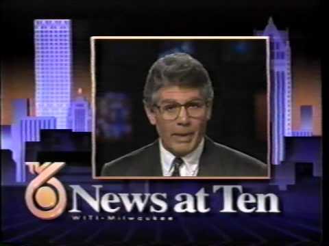 WITI TV 6  at 10 Bumper  Vince Gibbens 5 sec 1993
