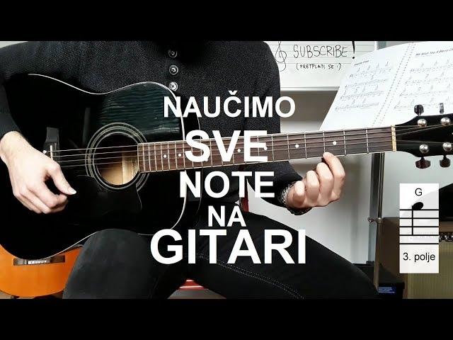 Note na GITARI