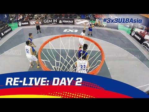 Re-Live - Malaysia Day 2 - 2016 FIBA 3x3 U18 Asian Championships