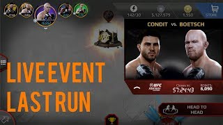 EA SPORTS UFC Mobile - Fantasy Live Event: Carlos Condit / Tim Boetsch Live Event Last Run!
