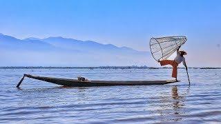 Wonderful Myanmar: Жизнь на воде в Мьянме. Путешествие к Озеру Инле / Видео