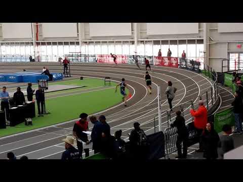 Quinten Distante 200m 23.33 1st place