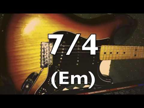 7/4 Prog Rock Electronica Backing Track (Em)