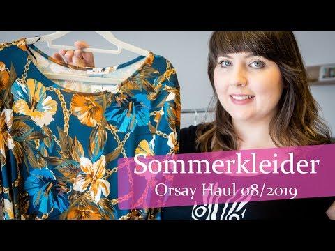 Sommer Kleider Haul 2019 Plussize / Curvy / Gr.44 / XL Orsay