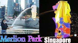 Merlion Park in SingaporeSingapore top tourist placeSingapore Merlion Park Singapore top places