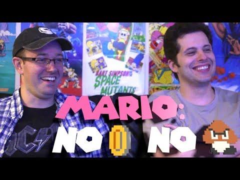 Mario: No Coins, No Enemies challenge - James & Mike Mondays (Episode 298)