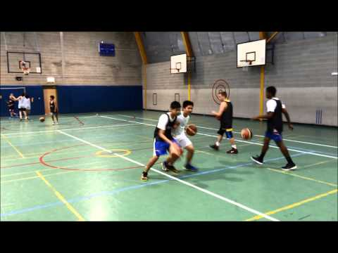 1 on 1 BUMP Drill (No Limits Academy, Feb 2014)
