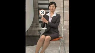 NHKの美脚で有名な女子アナ、一柳亜矢子アナが実は離婚していたことが、...