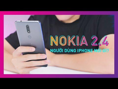 Mình đã chuyển từ iPhone qua sử dụng Nokia 2.4 vài ngày!