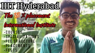 IIIT Hyderabad Info Ranking Cut-off Placements | IIIT-H Average Package Fee Structure & CSE 4 Year