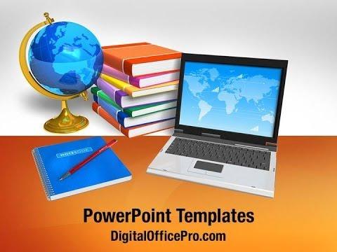 Distance education powerpoint template backgrounds distance education powerpoint template backgrounds digitalofficepro 00286 toneelgroepblik Gallery