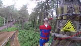 Spiderman stag