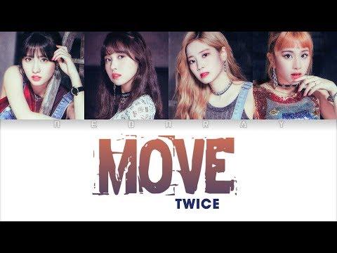 TWICE - 'MOVE(TAEMIN)' Cover (Studio Ver.) [Color Coded Han/Rom/Eng Lyrics]