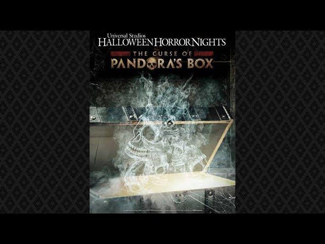 Pandora's Box CONFIRMED For Halloween Horror Nights 2019!