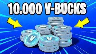 10,000 V-BUCKS DRAW AT FORTNITE