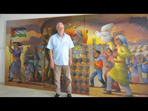 Palestinian artist Sliman Mansour will not leave Israel despite not feeling free