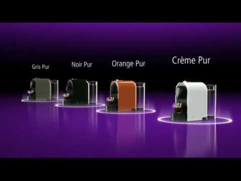 nespresso nouvelle machine u me moi youtube. Black Bedroom Furniture Sets. Home Design Ideas