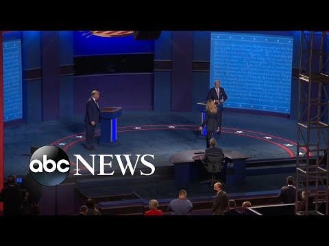 Who won the 1st presidential debate?