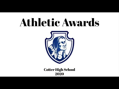Cotter High School Athletic Awards 2020