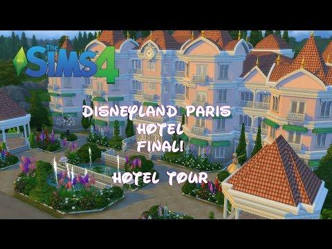 The Sims 4 - Disneyland Paris Hotel - Hotel Tour(Final!)