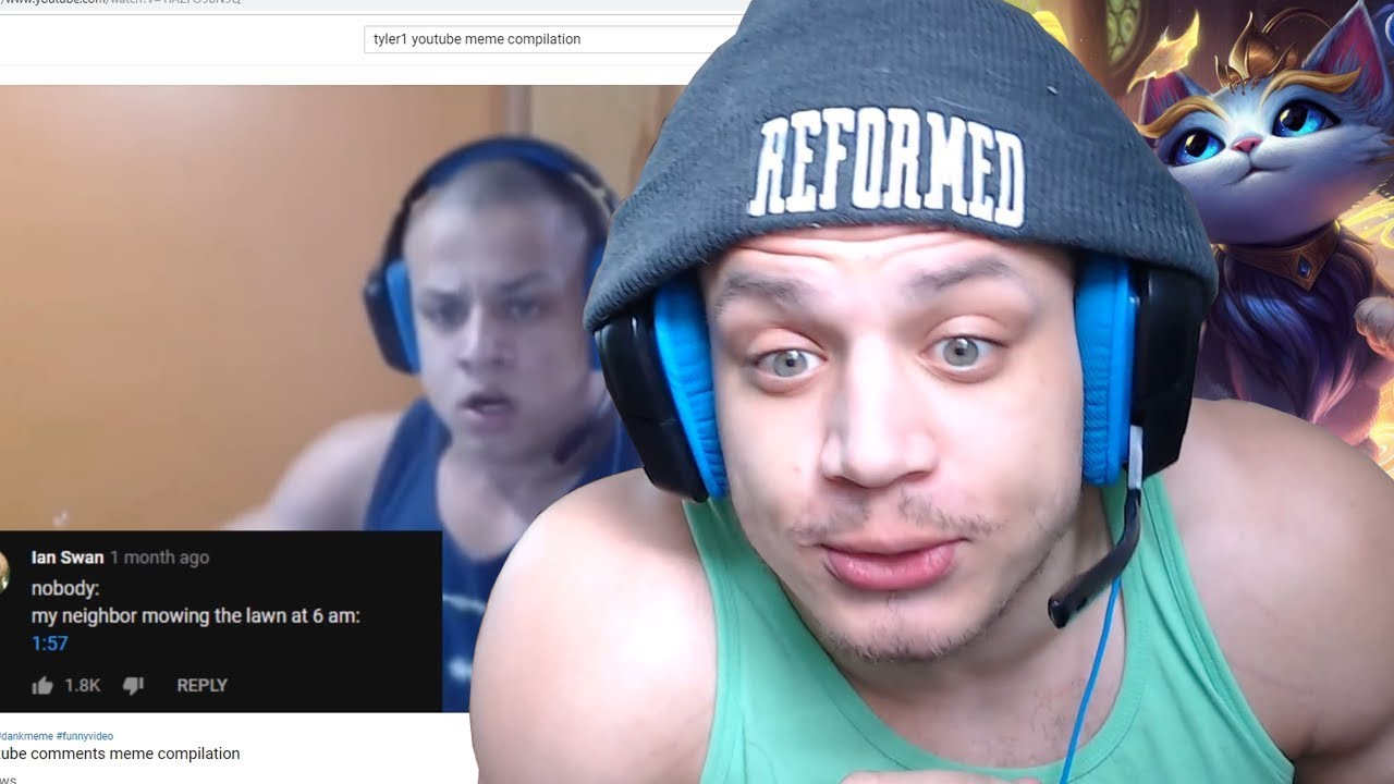 League Of Legends Streamers Tyler1 And Imaqtpie Face Off In