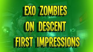 AW DLC 4 Zombies on DESCENT First Impressions SOLO Map Pack 4 Xbox One 1080p