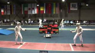 5022011 ms GP individual Plovdiv 16 red BUIKEVICH Aliaksandr BLR 13 vs HARTUNG Max GER 15 sd No