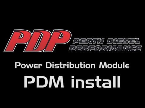 Perth Diesel Performance Power Distribution Module Install