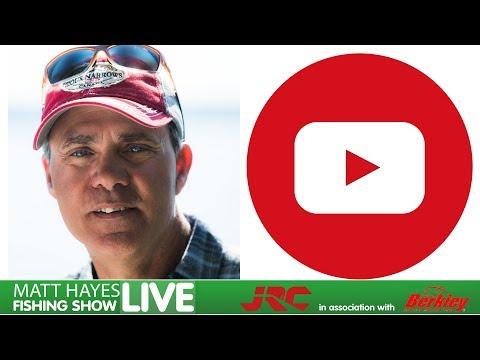 Matt Hayes Fishing Show Live On You Tube Ep 1