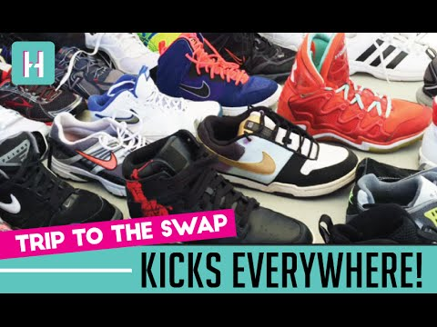 Sunday Trip to the Swap Meet: Kicks Everywhere! (eBay Finds, Haul, Sourcing)