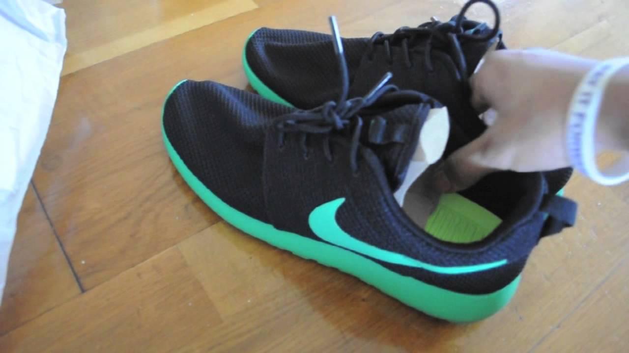 Nike Roshe Courir Iguane Vert - Stade Wembley
