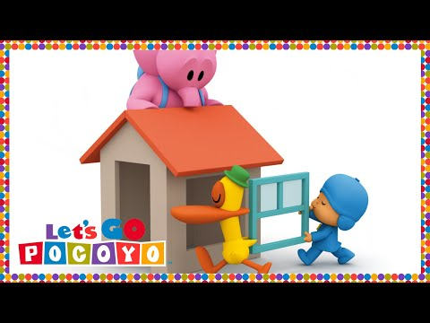 Let's Go Pocoyo! - Elly's Playhouse [Episode 37] in HD
