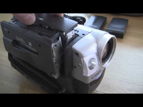 Canon UC8000 Camcorder Video Camera Test Review